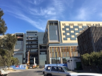 New Bendigo Hospital during construction
