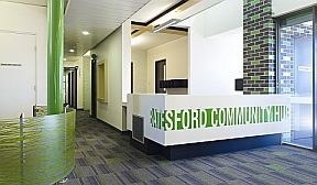 Interior shot Batesford Community Hub