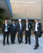 CETEC team at The Wesley Hospital