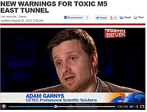 Adam Garnys, CETEC interview on M5 tunnel air quality