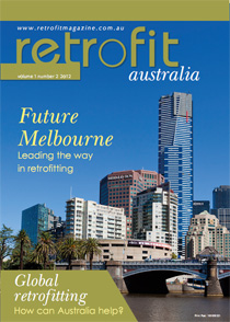 Cover page of Retrofit Australia (Vol 1, No 2, 2012)