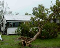 Cyclone Marcia damage